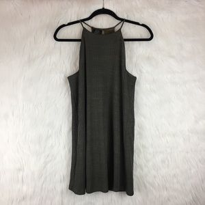 Zara Green Ribbed Tank Dress